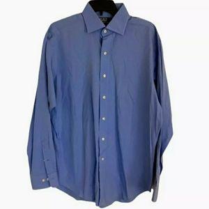 Polo Ralph Lauren Blue Dress Shirt Regent 16 34/35
